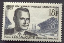 France N°1120 Neuf ** 1957 - France