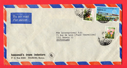 Thailand 1984 Registered   To Switzerland - Kenia (1963-...)
