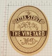 ETIQUETTE  BROUWERIJ FACON GENT THE VINE YARD EXTRA STOUT - Bière