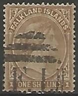 ILES FALKLAND N° 5 OBLITERE - Islas Malvinas