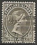ILES FALKLAND N° 6 OBLITERE - Islas Malvinas