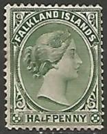 ILES FALKLAND N° 8 OBLITERE - Islas Malvinas