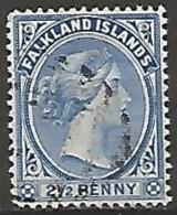 ILES FALKLAND N° 12 OBLITERE - Islas Malvinas