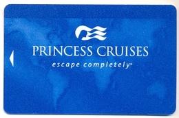 Princess Cruises, Used Magnetic Cruise Cabin Key Card, #  Kc-73 - Chiavi Elettroniche Di Alberghi