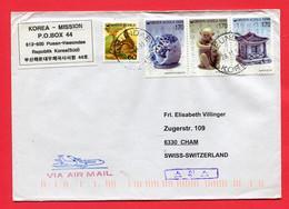 Korea Süd   1998  To Switzerland - Corea Del Sur