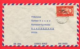 Venezuela 1958  To Switzerland - Venezuela