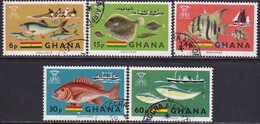 GHANA 1966 SG 420-24 Compl.set Used Freedom From Hunger - Ghana (1957-...)