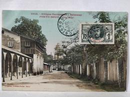 Dahomey. Porto Novo. Une Rue - Dahomey