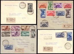 "Covers ) ITALIAN COLONIES: GENERAL ISSUE 1934 | ""Decennale Della Marcia Su Roma"". Complete Set Of 18 Values, - Italie"
