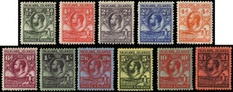 MH ) FALKLAND ISLANDS 1929/1937 | King George V. Complete Set Of 11 Values | MH..........(SG 116/126 £70 - Islas Malvinas