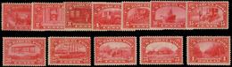 MH ) UNITED STATES 1913 | Parcel Post. Complete Set Of 12 Values | MH..........(Sc. Q1/Q12) - Colis