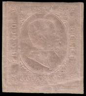 """MH ) SARDEGNA 1853   40c. Rosa   Provenienza   Collezione """"Nimue""""   Cert. En. Diena, A. Zanaria. Firma A - Sardaigne"""