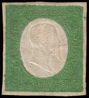 MH ) SARDEGNA 1854   5c. Verde   Rarissimo Esemplare Nello Stato Di Nuovo Con Piena Gomma. Tra I Pochi N - Sardaigne