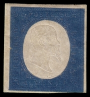 MH ) SARDEGNA 1854   20c. Azzurro   Raro Esemplare In Ottime Condizioni.   Provenienza   Collezione Bona - Sardaigne
