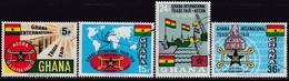 GHANA 1967 SG 441-44 Compl.set Used Ghana Trade Fair - Ghana (1957-...)