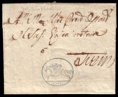Cover ) SARDEGNA 1819 (1 Mar.)   Lettera Con Testo, Su Foglio Doppio, Da Cherasco Per Torino Affrancata Con - Sardaigne