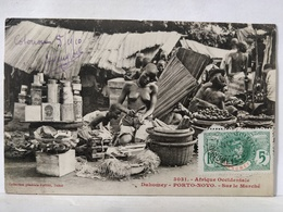 Dahomey. Porto Novo. Sur Le Marché - Dahomey