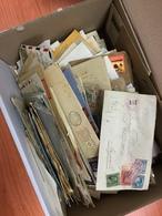 Covers/postcards ) MONDIALI - STORIA POSTALE 1842/1965   Lotto Formato Da Centinaia Di Buste E Cartoline Del Periodo, - Timbres