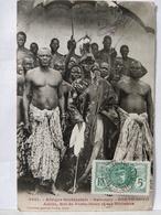 Dahomey. Porto Novo. Adjiki. Roi Et Ses Ministres - Dahomey