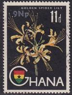 GHANA 1967 SG 448 9n.p. On 11d Used - Ghana (1957-...)