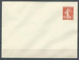 France Enveloppe Entier Postal YT N°138-E6 Semeuse Fond Plein Neuf ** - Standard Covers & Stamped On Demand (before 1995)