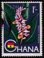 GHANA 1967 SG 449 10n.p. On 1sh Used - Ghana (1957-...)