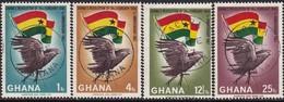 GHANA 1967 SG 455-58 Compl.set+2 M/s Used Feruary 24 Revolution - Ghana (1957-...)