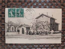 Castiglione ( La Gare) Le 10 06 1910. Algérie - Otras Ciudades