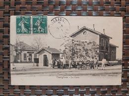 Castiglione ( La Gare) Le 10 06 1910. Algérie - Autres Villes
