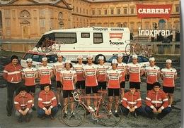 Teamcard Carrera-Inoxpran - 1984 - Ciclismo