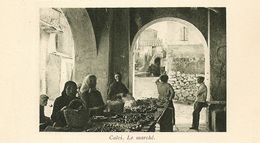 CORSE CALVI Le Marché 1927 - Zonder Classificatie