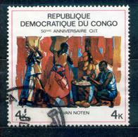 Kongo ( Kinshasa ) 1969 - Michel Nr. 355 O - Dem. Republik Kongo (1964-71)