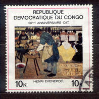 Kongo ( Kinshasa ) 1969 - Michel Nr. 357 O - Dem. Republik Kongo (1964-71)