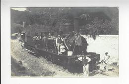 VERNON TRAIN LOCOMOTIVE CARTE PHOTO LAVERGNE /FREE SHIPPING R - Vernon
