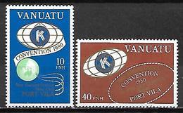 VANUATU   -   1980.    Kiwani  Club De Port-Villa.   Neufs ** - Vanuatu (1980-...)