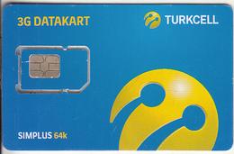 TURKEY - Turkcell GSM, Chip 9, Mint - Turkije