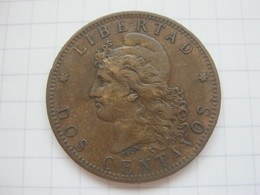 Argentina , 2 Centavos 1884 - Argentina