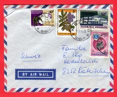 Ruanda 1970  Aerogramm   To Switzerland - Rwanda