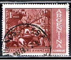 ARGENTINE 988 // YVERT 634 //1961 - Usati