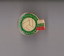 Bulgarian Volleyball Federation Pin Badge Associatin Verband FIVB - Voleibol
