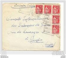 72 - 30 - Lettre Envoyée De St-Beat /Hte Garonne à La Croix Rouge Genève-Service Des Prisonniers De Guerre 1940 - Guerra Del 1939-45