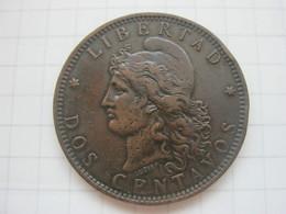 Argentina , 2 Centavos 1892 - Argentina