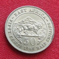 Africa East 50 Cents 1948 - Coins