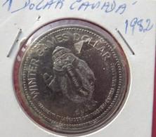 Canada  Winter Games Dollar 1982 - Canada
