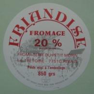 """Etiquette Fromage - Friandise - Fromagerie Du Petit Morin """"La Trétoire"""" 77 Rebais - Seine&Marne    A Voir ! - Fromage"""