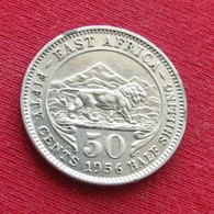 Africa East 50 Cents 1956  KN - Coins