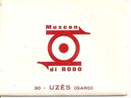 Museon Di Rodo - 30 Uzès - Carnet Lot De 9 Mini Cartes Voitures Anciennes - 5 - 99 Karten