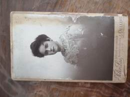 CDV FELIX LAC FEMME OULLINS - Alte (vor 1900)