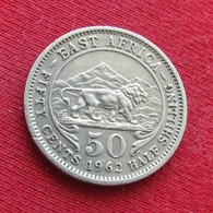 Africa East 50 Cents 1962  KN - Coins