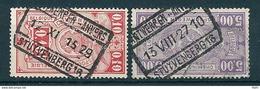 TR 136 + 157 Gestempeld ANTWERPEN - ANVERS STUYVENBERG 16 - 1923-1941